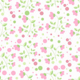 Teste padrão de Rosa Foto de Stock