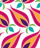 Teste padrão de Seamsless do Tulip do otomano Imagem de Stock Royalty Free