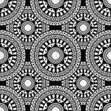 Teste padrão de Siamless sentagle isolate Vetor Foto de Stock