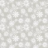 Teste padrão de Snowlakes Fotografia de Stock Royalty Free