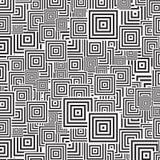 Teste padrão de Squre Imagem de Stock