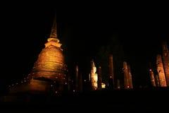 Teste padrão de Sukothai do pagode Imagens de Stock