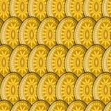 Teste padrão de Sun do ovo Fotografia de Stock