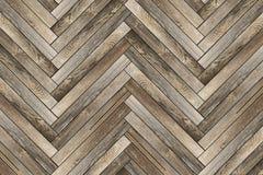 Teste padrão de telhas de madeira velhas Imagens de Stock