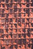 Teste padrão de telhas de telhado Imagem de Stock Royalty Free