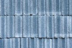 Teste padrão de tijolos concretos Fotos de Stock Royalty Free
