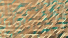 Teste padrão de Tone Blue Orange Low Poly do duo ilustração do vetor