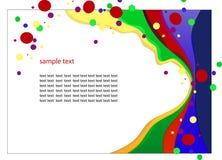 Teste padrão de uma apresentação Imagem de Stock Royalty Free
