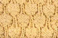 Teste padrão de uma lã Fotos de Stock Royalty Free
