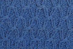 Teste padrão de uma lã Fotografia de Stock