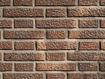 Teste padrão de uma parede de tijolo Fotos de Stock Royalty Free