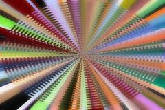 Teste padrão de vidro centrado Imagem de Stock Royalty Free