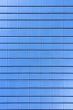 Teste padrão de vidro da textura do arranha-céus da construção Fotografia de Stock Royalty Free