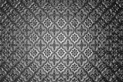 Teste padrão de vidro de prata Imagens de Stock Royalty Free