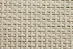 Teste padrão de weave de cesta branco Fotos de Stock Royalty Free
