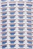 Teste padrão de Windows do edifício Fotos de Stock Royalty Free