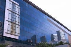 Teste padrão de Windows do edifício Fotos de Stock