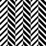 Teste padrão de ziguezague ótico sem emenda Foto de Stock