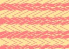 Teste padrão de ziguezague abstrato Fotos de Stock