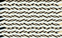 Teste padrão de ziguezague abstrato Fotografia de Stock Royalty Free