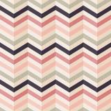 Teste padrão de ziguezague da forma em cores retros Foto de Stock Royalty Free