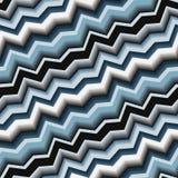 Teste padrão de ziguezague sem emenda Foto de Stock Royalty Free