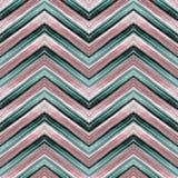 Teste padrão de ziguezague sem emenda Fotografia de Stock