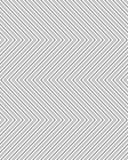Teste padrão de ziguezague sem emenda cinzento Fotos de Stock