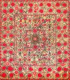 Teste padrão decorativo árabe oriental do bordado foto de stock royalty free