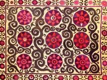 Teste padrão decorativo árabe oriental do bordado fotografia de stock royalty free