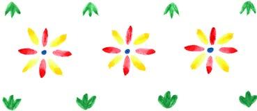 Teste padrão decorativo Imagem de Stock