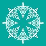 Teste padrão decorativo Foto de Stock Royalty Free