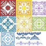 Teste padrão decorativo Foto de Stock