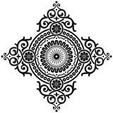 Teste padrão decorativo ilustração royalty free