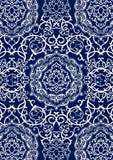 Teste padrão decorativo Imagens de Stock Royalty Free