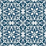 Teste padrão decorativo abstrato Imagens de Stock Royalty Free