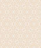 Teste padrão decorativo branco Fotografia de Stock
