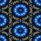 Teste padrão decorativo calidoscópico Imagens de Stock Royalty Free