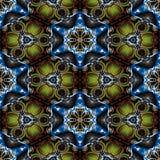 Teste padrão decorativo calidoscópico Fotos de Stock