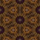 Teste padrão decorativo calidoscópico Fotografia de Stock