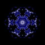 Teste padrão decorativo calidoscópico Fotografia de Stock Royalty Free