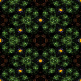 Teste padrão decorativo calidoscópico Imagens de Stock