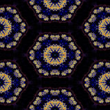 Teste padrão decorativo calidoscópico Foto de Stock