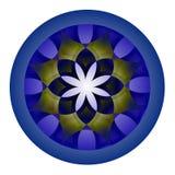 Teste padrão decorativo colorido Fotos de Stock Royalty Free
