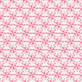 Teste padrão decorativo cor-de-rosa Imagens de Stock Royalty Free