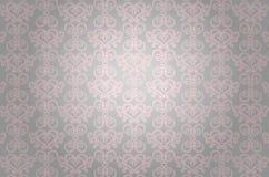 Teste padrão decorativo cor-de-rosa luxuoso Foto de Stock Royalty Free