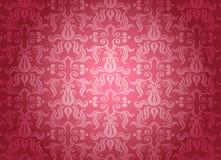 Teste padrão decorativo cor-de-rosa luxuoso Fotografia de Stock
