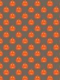 Teste padrão decorativo da abóbora Fotos de Stock Royalty Free