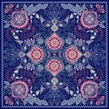 Teste padrão decorativo de Paisley Fotos de Stock Royalty Free