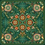 Teste padrão decorativo de Paisley Fotografia de Stock